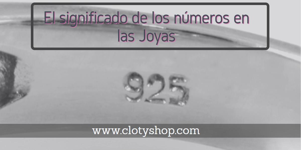 49c2c1134485 Qué significan esos números en las joyas - Clotyshop