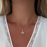 collar maxi estrella plata